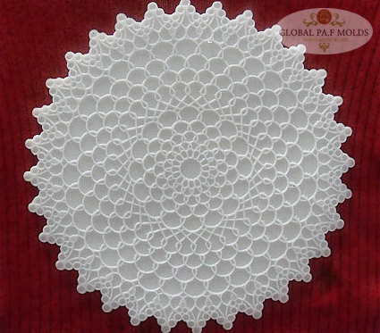 LARGE doily mold 09